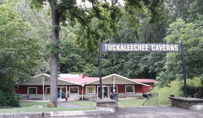 Tuckaleechee Caverns Attraction Entrance