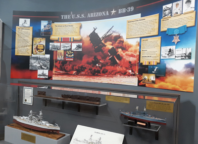 U.S.S. Arizona Display