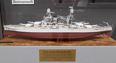 U.S.S. Arizona Model