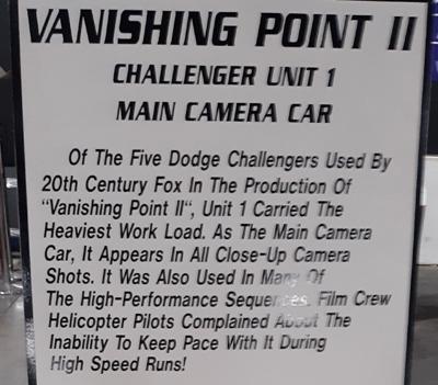 Vanishing Point II Info