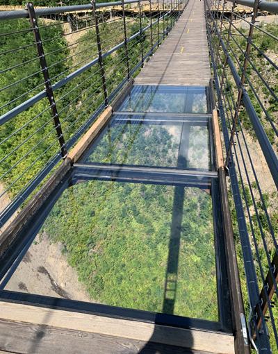 Gatlinburg Skybridge Glass Panels