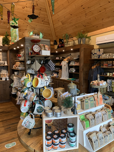 Great Outdoors Trading Company Gift Shop at Anakeesta